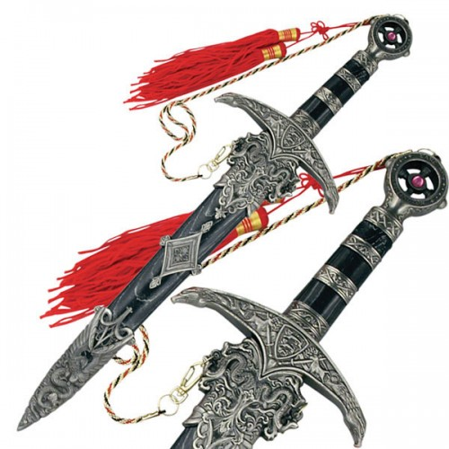"D-209 MEDIEVAL SWORD 18.25"" OVERALL"